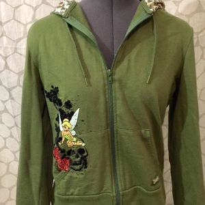 Sweaters - On reserve tinker bell hoodie